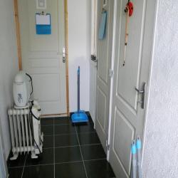 Couloir d'accès aux boxes